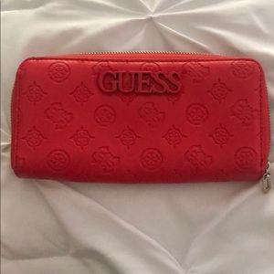 Guess Debossed logo Wallet